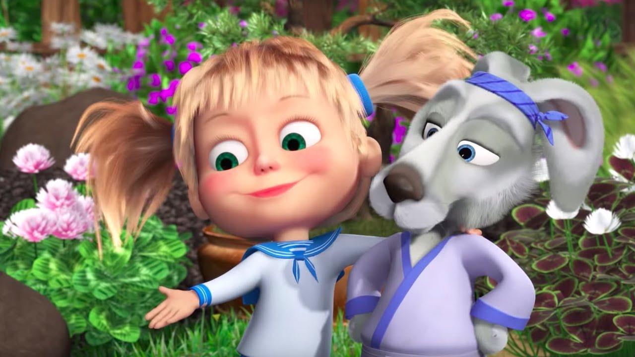 Маша и Медведь - 🤖 Очень добрый день! 💃(Секрет Машуко ...